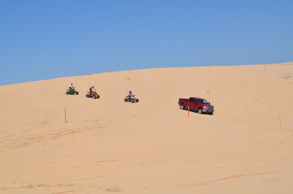 Silver Lake State Park Dune Vehicle ORV Parade