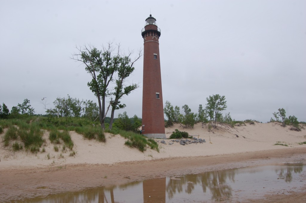 Silver Lake State Park Little Sable Lighthouse Reflection