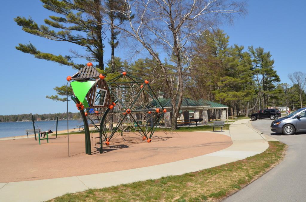 Silver Lake State Park Playground Picnic Pavilion