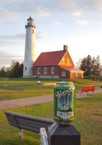 Vernors Can Pure Michigan Lighthouses Tawas Point
