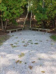 Alpena Island Park Stairs Trail