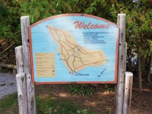 Alpena Island Park Trail Map Wildlife Sanctuary
