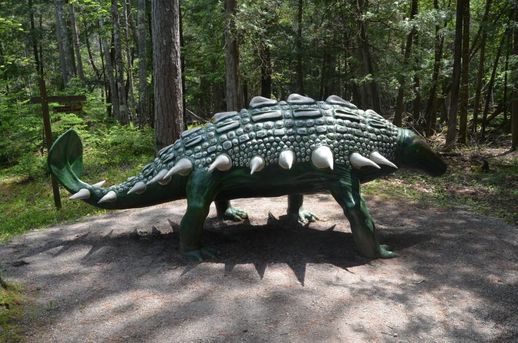 Dinosaur Gardens Ankylosaurus Ossineke Michigan