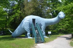 Dinosaur Gardens Brontosaurus Ossineke Michigan