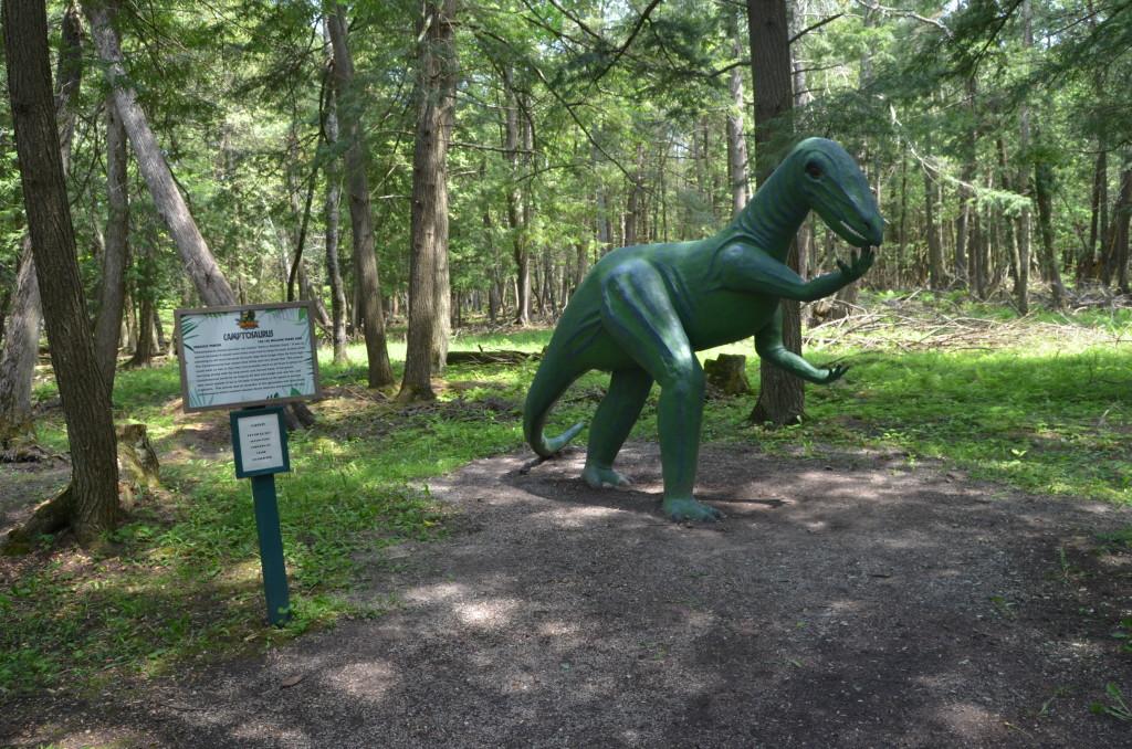 Dinosaur Gardens Camptosaurus Ossineke Michigan