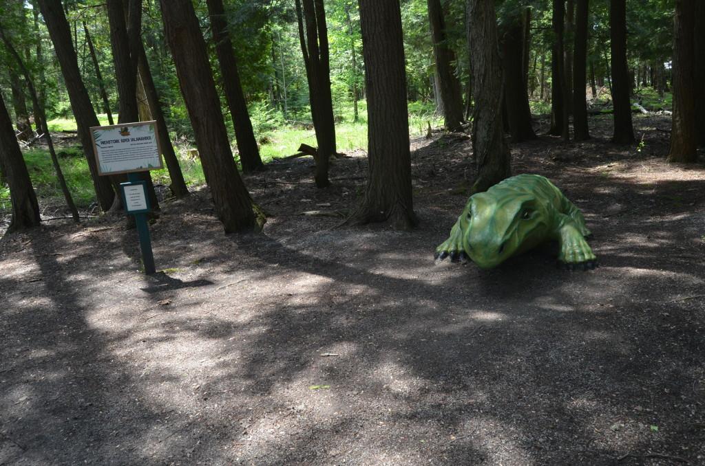 Dinosaur Gardens Prehistoric Salamander Ossineke Michigan