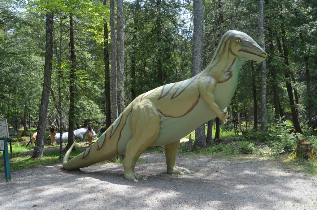 Dinosaur Gardens Sculpture Park Ossineke Michigan