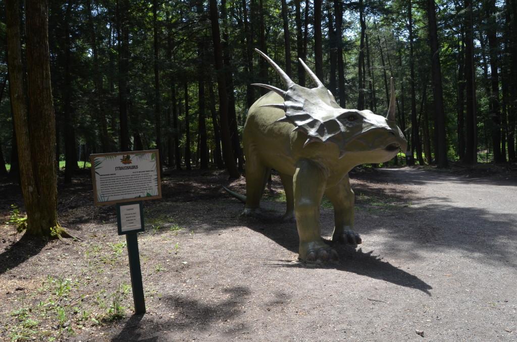 Dinosaur Gardens Stracosaurus Ossineke Michigan