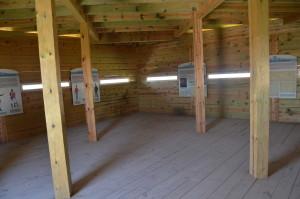 Fort Holmes Mackinac Island Michigan Interior