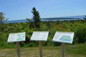 Fort Holmes Mackinac Island Michigan Lookout Lake Huron