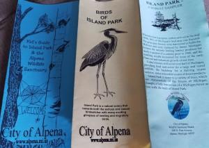 Island Park Alpena Michigan Brochures