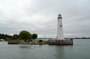 Milliken State Park Lighthouse Detroit Michigan