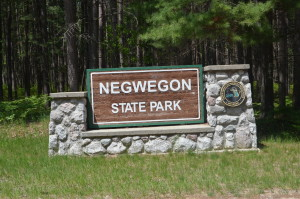 Negwegon State Park Michigan Alpena County