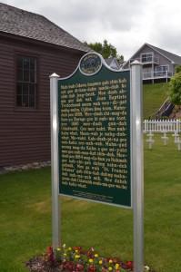 St. Francis Solanus Indian Mission History Marker Odawa