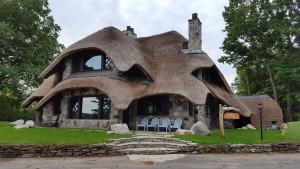 Mushroom House Charlevoix Michigan