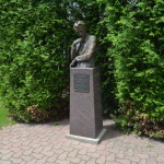 Michigan Roadside Attractions: Claude Shannon Park, Gaylord