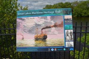 Great Lakes Maritime Heritage Trail Alpena Pewabic Shipwreck Information