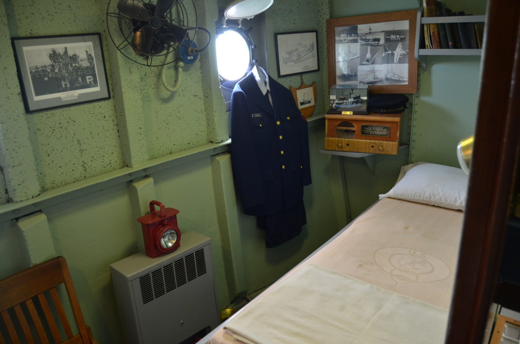 Lightship Huron Bedroom Main Deck Michigan Museum
