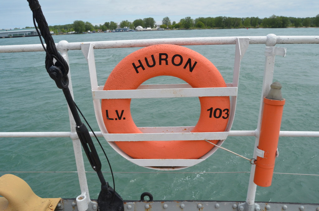 Lightship Huron Life Ring Michigan Museum