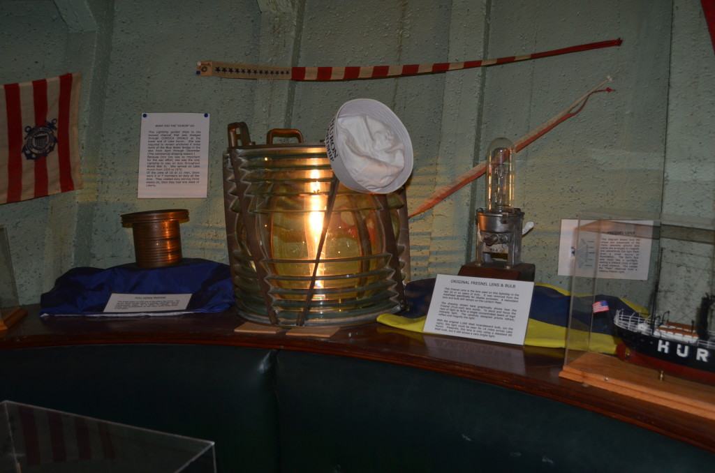 Lightship Huron Ship Models and Lantern