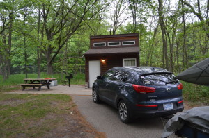 Port Crescent State Park Mini Cabin Michigan Camping