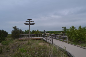 Port Crescent State Park Raptor Observation Area Michigan