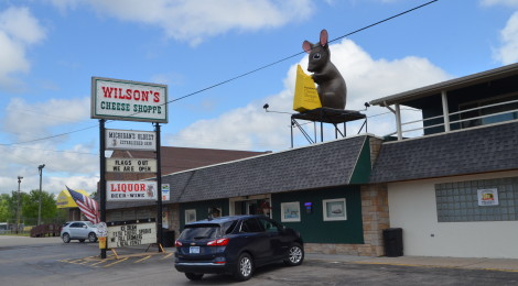 Michigan Roadside Attractions: Wilson's Cheese Shoppe, Pinconning