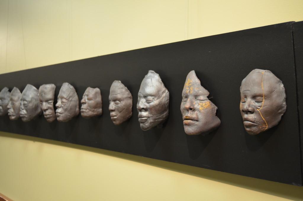 ArtPrize 10 108 Death Masks by Nikesha Breeze