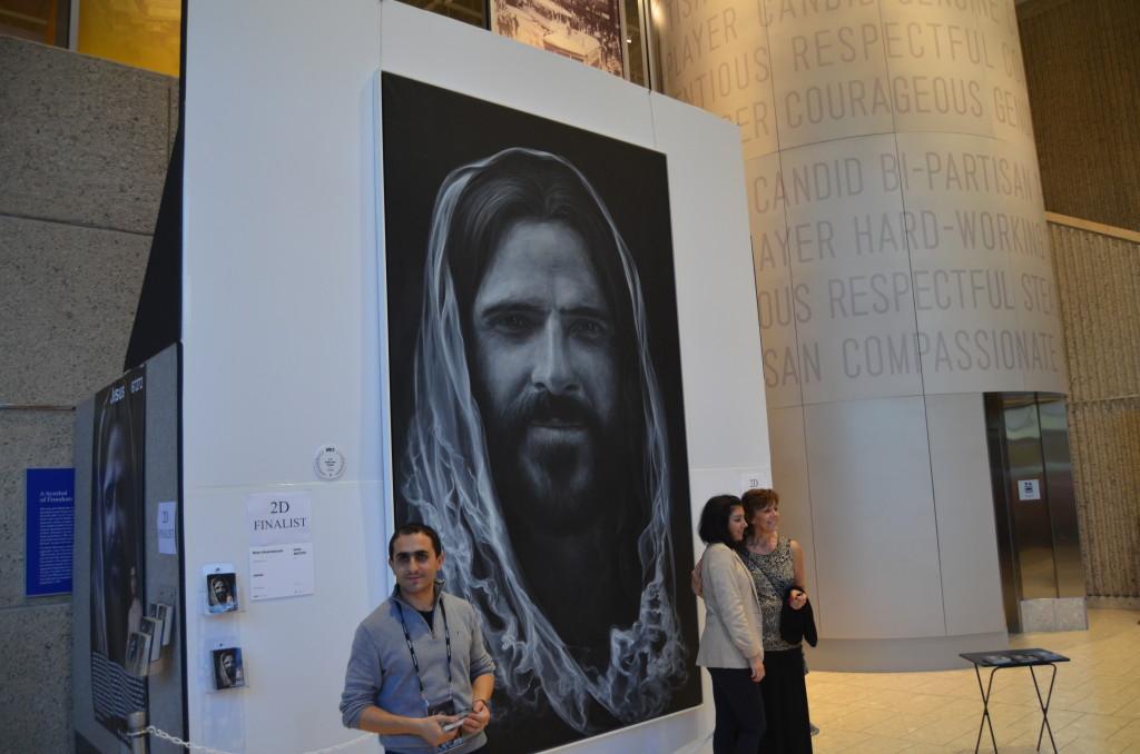 ArtPrize 10 Jesus by Mher Khachatryan