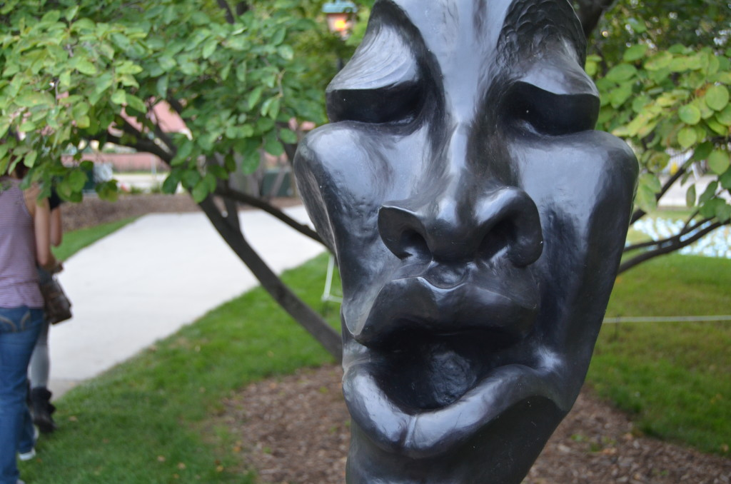 ArtPrize 10 Moonhead Man by Jeff Glode Wise