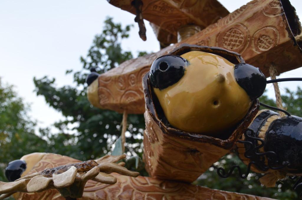 ArtPrize 10 Peace Totem by Scott Brazeau
