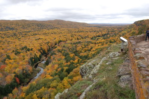 Fall Color Lake of the Clouds Porcupine Mountains