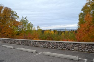 Fall Color Whitefish Bay Scenic Byway Naomikong Overlook