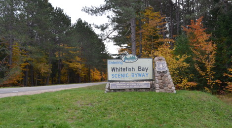 Whitefish Bay Scenic Byway - Hiawatha National Forest