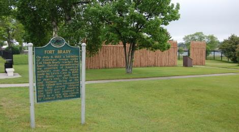 Michigan Roadside Attractions: Fort Brady, Sault Ste. Marie