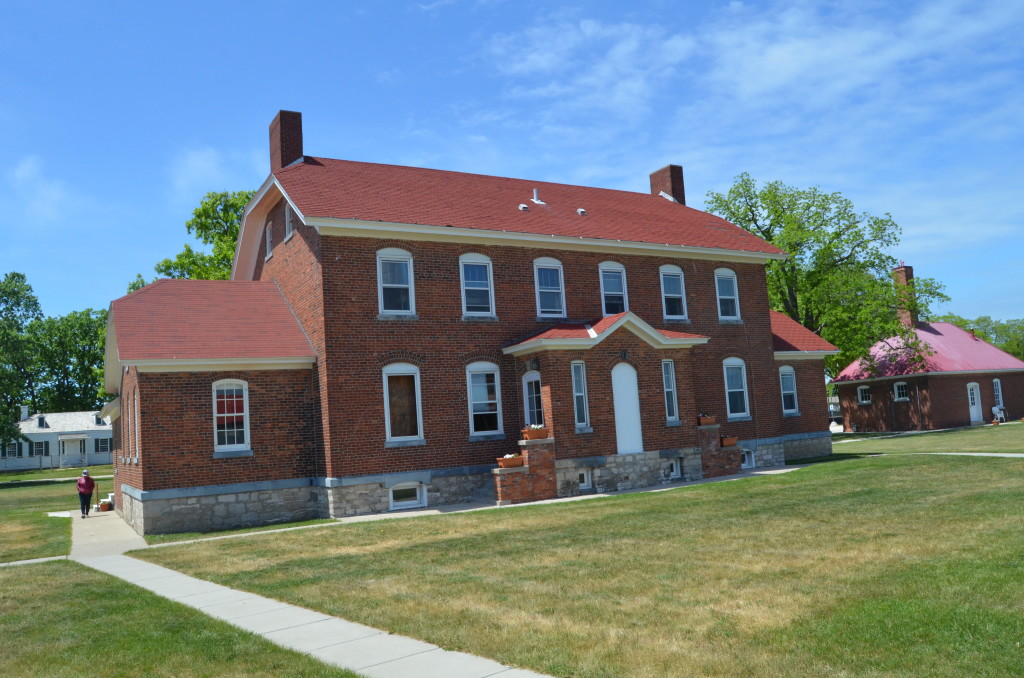 Fort Gratiot Lighthouse Keepers Dwelling Two Story