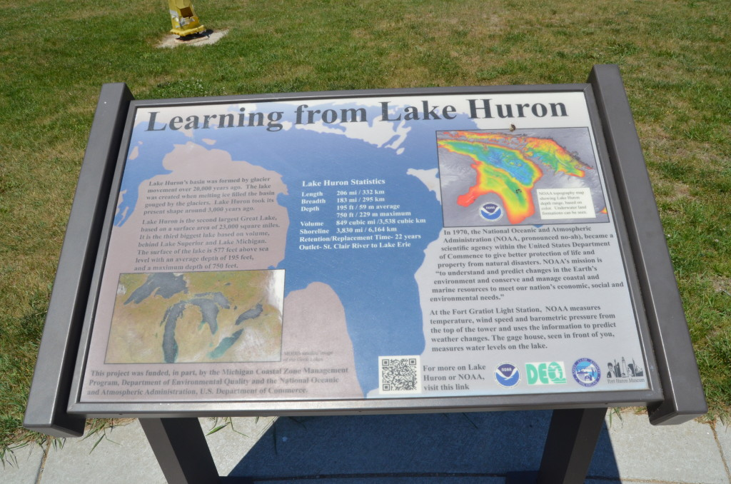 Fort Gratiot Lighthouse Lake Huron Water Levels Information
