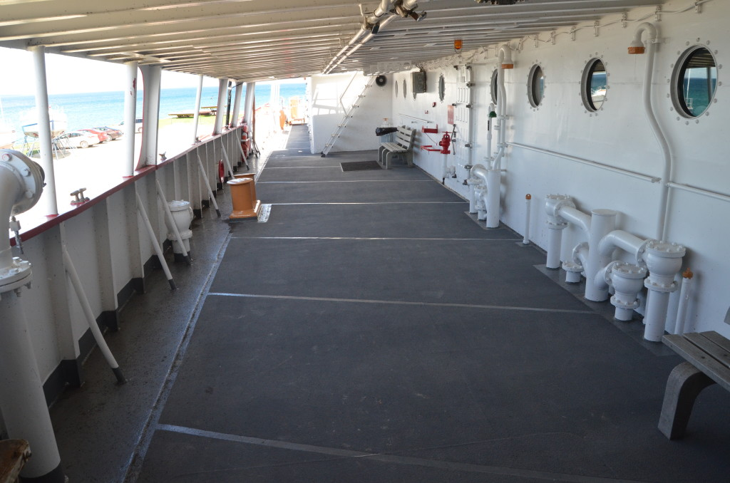 Icebreaker Mackinaw Maritime Museum Deck Hallway