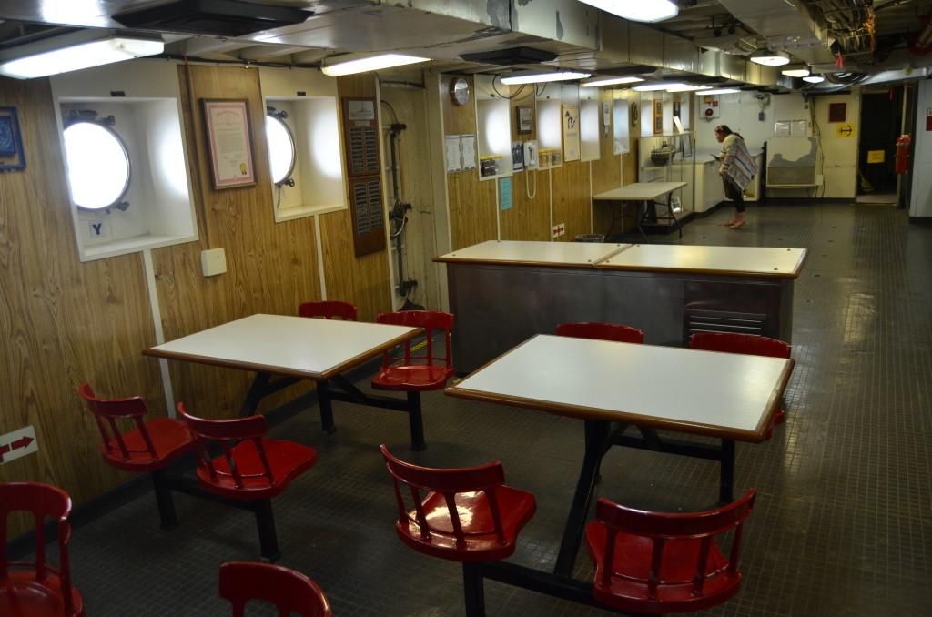 Icebreaker Mackinaw Maritime Museum Dining Area