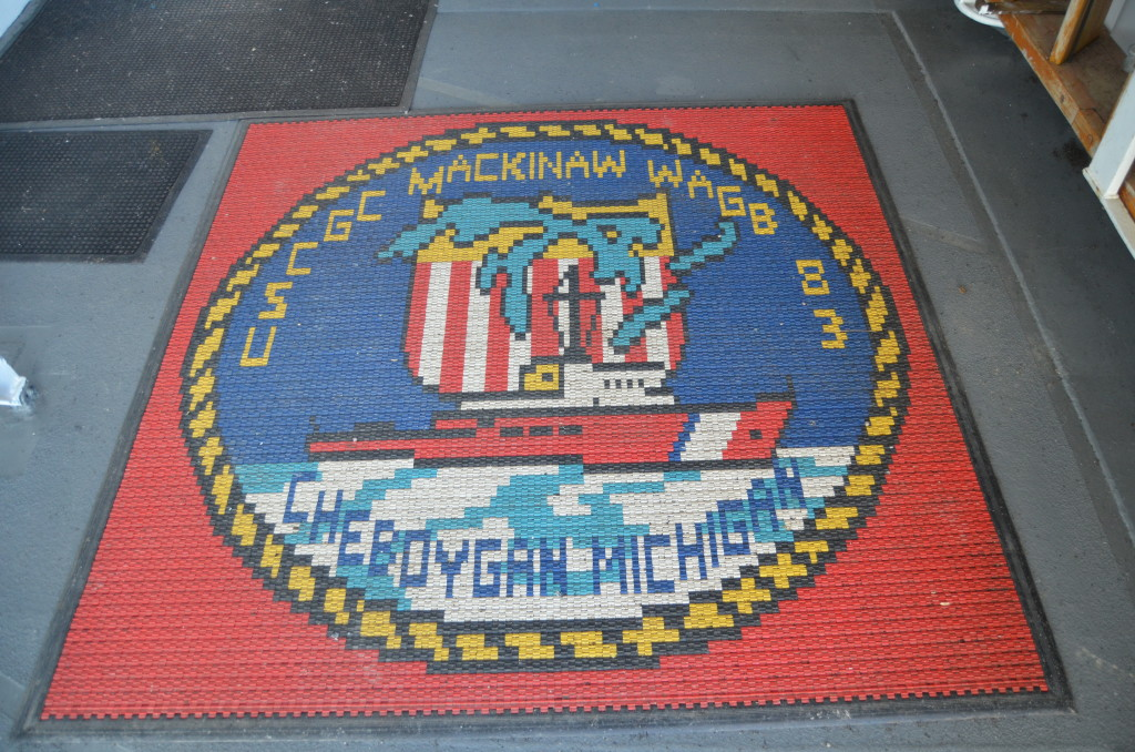Icebreaker Mackinaw Maritime Museum Entrance Rug