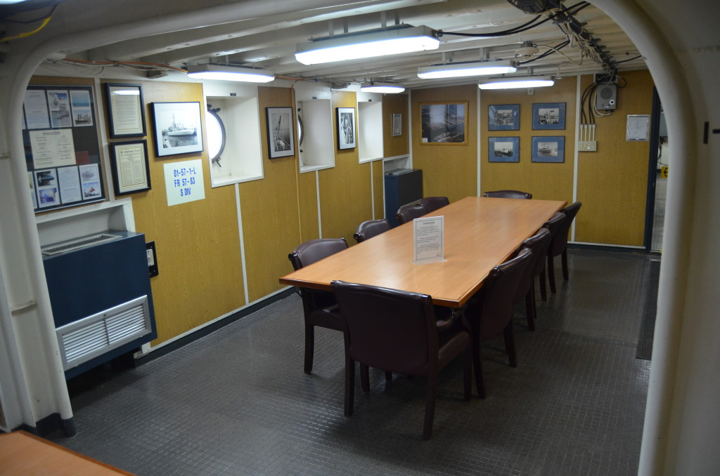 Icebreaker Mackinaw Maritime Museum Meeting Room