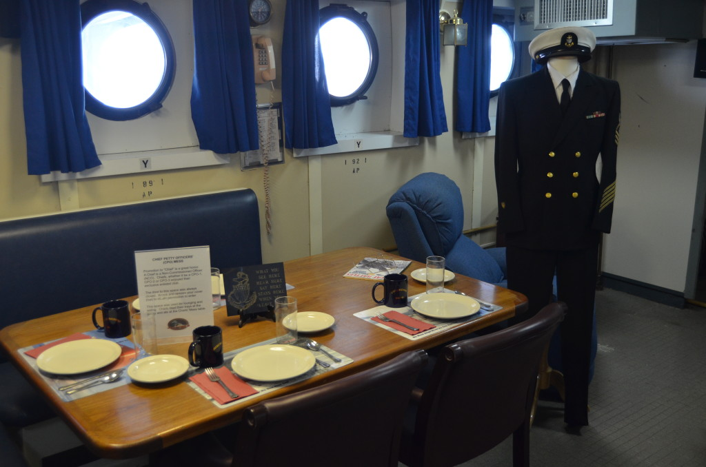 Icebreaker Mackinaw Maritime Museum Officer Dining