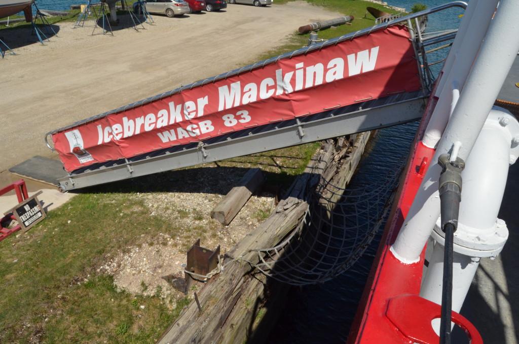 Icebreaker Mackinaw Maritime Museum Staircase