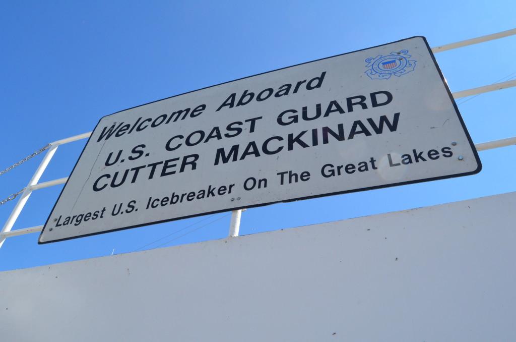 Icebreaker Mackinaw Maritime Museum Welcome Aboard