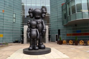 Waiting by KAWS Detroit Michigan