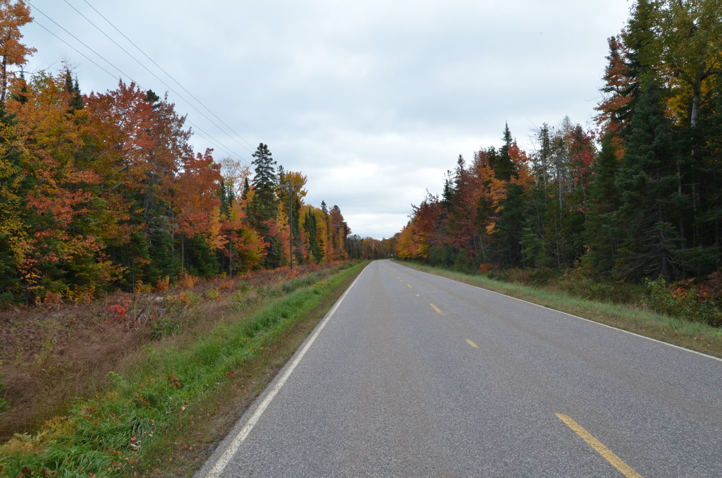 Whitefish Bay Scenic Byway Fall Color 2018