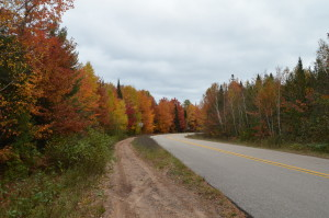 Whitefish Bay Scenic Byway Fall Color Bay Mills Indian Community