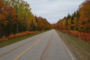 Whitefish Bay Scenic Byway Fall Color Feature Photo