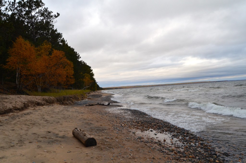 Whitefish Bay Scenic Byway Fall Color Lake Superior
