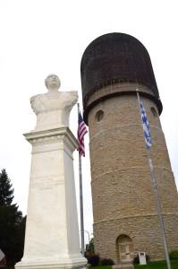 Ypsilanti Water Tower 2 Statue